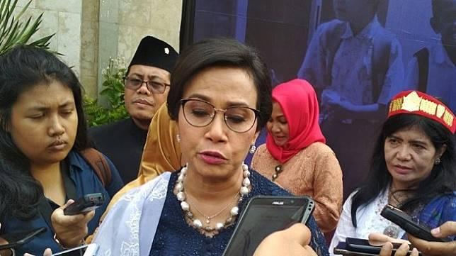 Menteri Keuangan Sri Mulyani Indrawati. (Suara.com/Fadil)