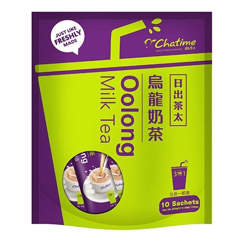 日出茶太烏龍奶茶20g*10入【愛買】