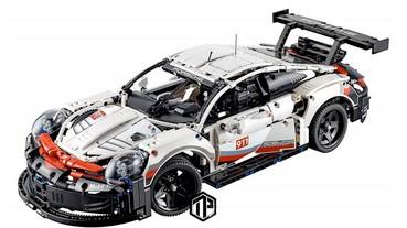 LEGO Technic 全新 Porsche 911 RSR 積木模型曝光