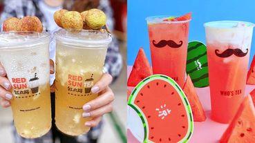【我好飢渴】把水果用喝的才過癮!2020夏天必喝「水果系手搖飲TOP6」~西瓜青茶、芭樂雪沙、荔枝奶蓋超消暑!