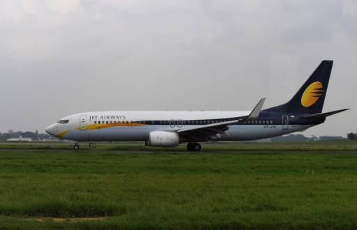 Sajjad HUSSAIN / AFP เจ็ท แอร์เวย์ ซึ่งเป็นสายการบินอันดับ 2 ของอินเดียจากส่วนแบ่งการตลาดระบุว่าได้รับผลกระทบหนักจากราคาน้ำมันดิบโลกผันผวน เงินรูปีอ่อนค่า และการแข่งขันหนักหน่วงจากสายการบินต้นทุนต่ำ
