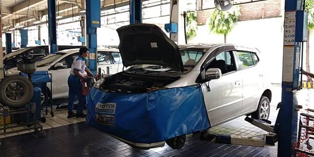 Bengkel resmi Toyota (Liputan6.com/ Amal)