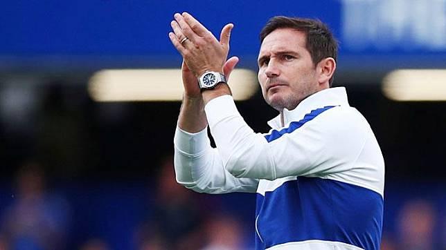 Pelatih Chelsea, Frank Lampard. REUTERS