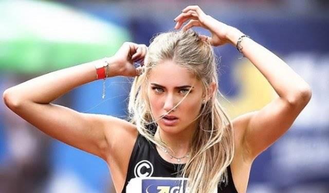5 Pose Seksi Alica Schmidt, Atlet Lari Andalan Jerman