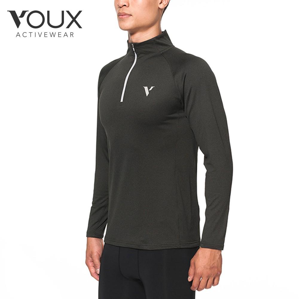 VOUX-One Step Ahead一天的開始到結束,你都可以在VOUX找到合適的衣著!--▪商品名稱:【VOUX】男機能前襟拉鍊休閒服(藍/丈青/灰M-2XL)▪商品特色:1)透氣快乾2)高延展性