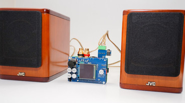 NanoSound Amp 10 動手玩,小小尺寸就能推動2顆 10W 喇叭