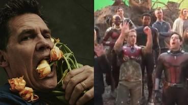 《復仇者聯盟》仇恨先放一旁 片場幫「薩諾斯」喬許布洛林唱 50 歲生日快樂歌!
