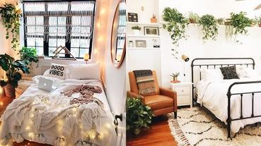 氣質生活UP!用些少植物點綴房間,打造清新女孩的小空間〜