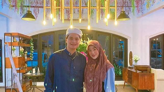 Alvin Faiz dan Larissa Chou. (Foto: Instagram @alvin_411)