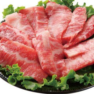 <鹿児島県産>黒毛和牛ばらカルビ焼用
