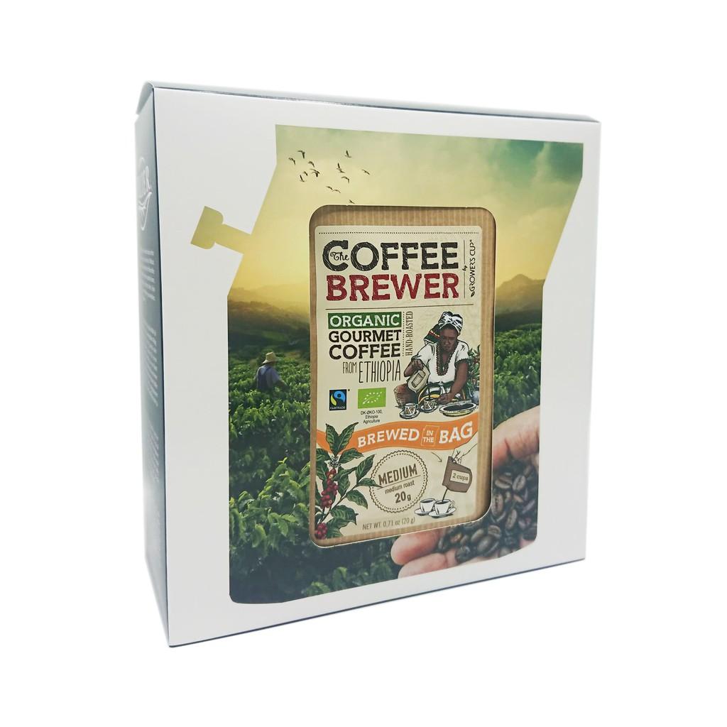 Coffee Brewer 有機咖啡禮盒組-綜合6入
