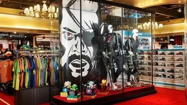 新光三越台北信義新天地 X-RUNWAY 英雄風格櫥窗 漫威超級英雄強勢襲台