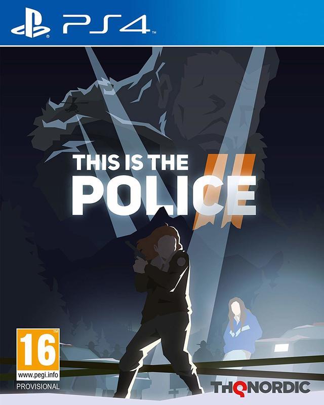 [刷卡價] 預購2018/12/31 PS4 身為員警 2 This is the Police 2
