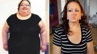 體重破200公斤!披薩廚師年減百斤變清新美女