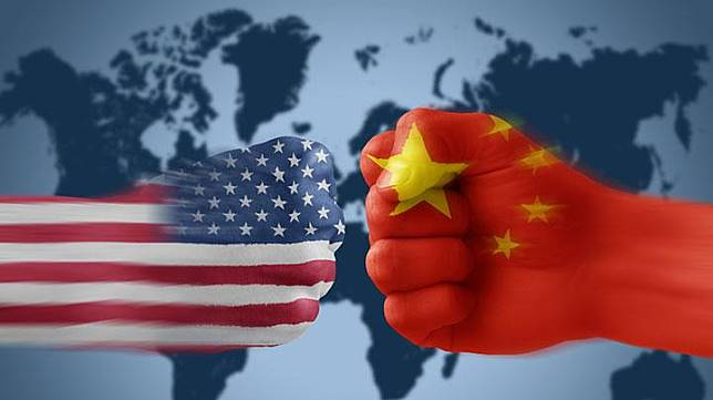 Ilustrasi perang dagang Amerika Serikat dan Cina. Businessturkeytoday.com/