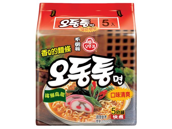 韓國不倒翁~海鮮風味烏龍拉麵(120gx5包)整袋裝【D522944】泡麵/進口/團購,還有更多的日韓美妝、海外保養品、零食都在小三美日,現在購買立即出貨給您。