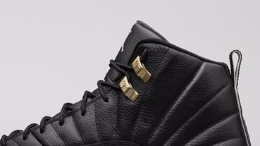 又一雙黑鞋控秒殺的鞋款 Air Jordan 12 Retro The Master!