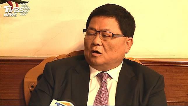 大甲鎮瀾宮董事長顏清標。圖/TVBS資料畫面