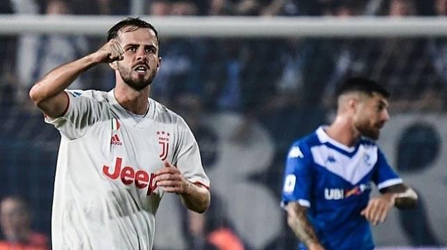 Liga Italia: Kalahkan Brescia 2-1 Juventus Gusur Inter di Puncak Klasemen