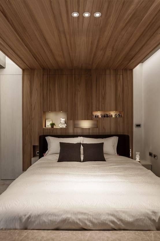 臥室翻新實例五: 改造後