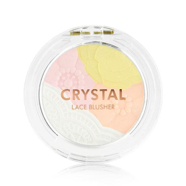韓國 TONYMOLY 水晶花邊提亮腮紅 4.5g ◆86小舖 ◆