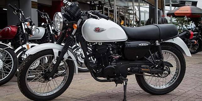 Kawasaki W175 versi Vietnam (Zing)