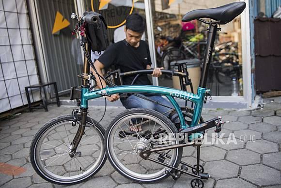 In Picture Sepeda Lipat Kreuz Buatan Anak Muda Bandung