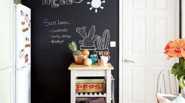 想要讓改變生活品質?可以先從打造黑板牆開始