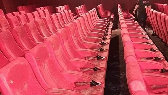 Viral Foto Kursi Bioskop Berjamur, Cinema XXI Diserbu Pertanyaan