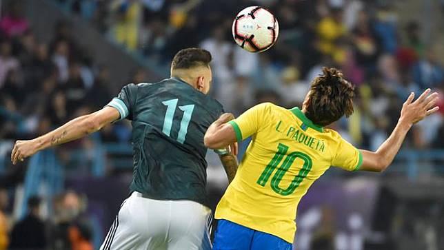 Lucas Paqueta Pakai Nomor 10 Rivaldo Semprot Pelatih Timnas Brasil