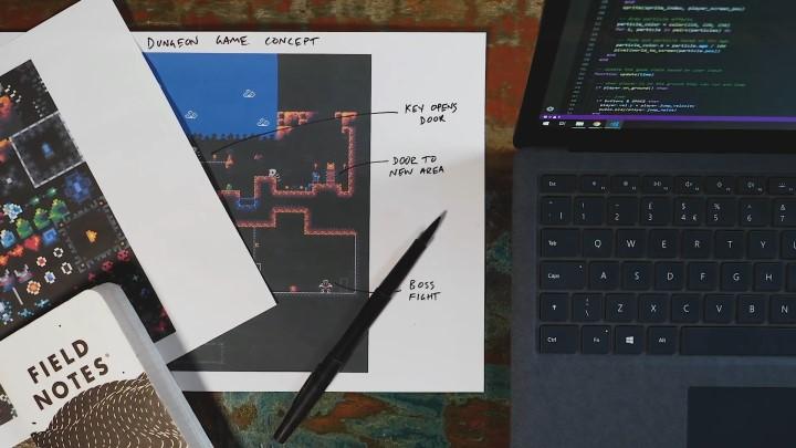 玩家不但可以自由改造32blit的韌體,還能透過開發工具自行製作遊戲。