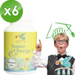【ONE 源萃倈】SuperOmega金鑽魚油 家庭組