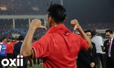 Đoàn Văn Hậu dành tặng chiến thắng cho đồng đội U23 Việt Nam