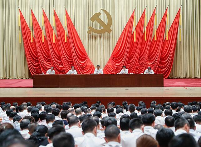 China's Communist Party is looking at the beginning of the end of one-party rule