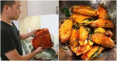 Anh chồng Hà Nội khoe thực đơn chăm vợ kèm công thức nấu: Đúng là vợ có 'số hưởng'