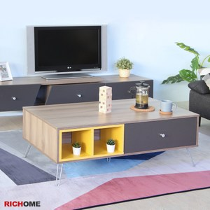 【RICHOME】漢諾威4尺茶几桌