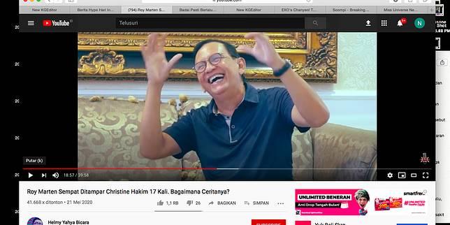 YouTube Helmy Yahya Bicara
