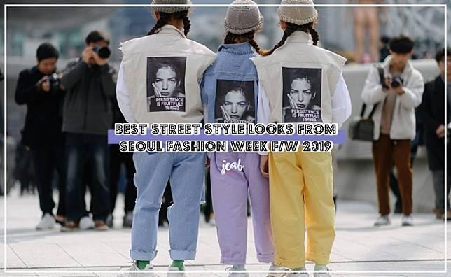 รวมสตรีทสไตล์สุดแซ่บของเหล่าแฟชั่นนิสต้าเกาหลีที่ Seoul Fashion Week F/W 2019