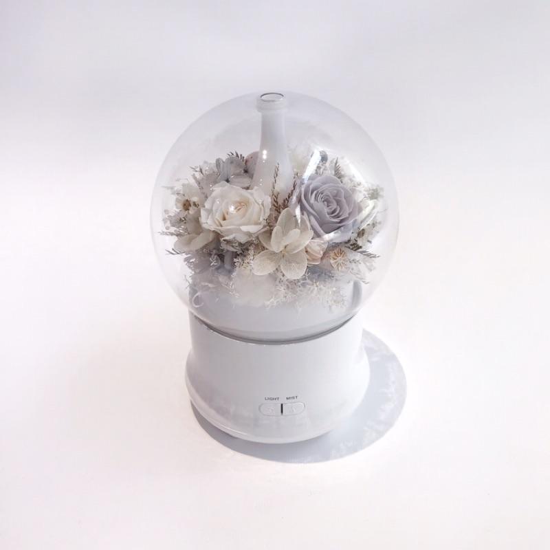 Flora flower 純白永生花薰香機