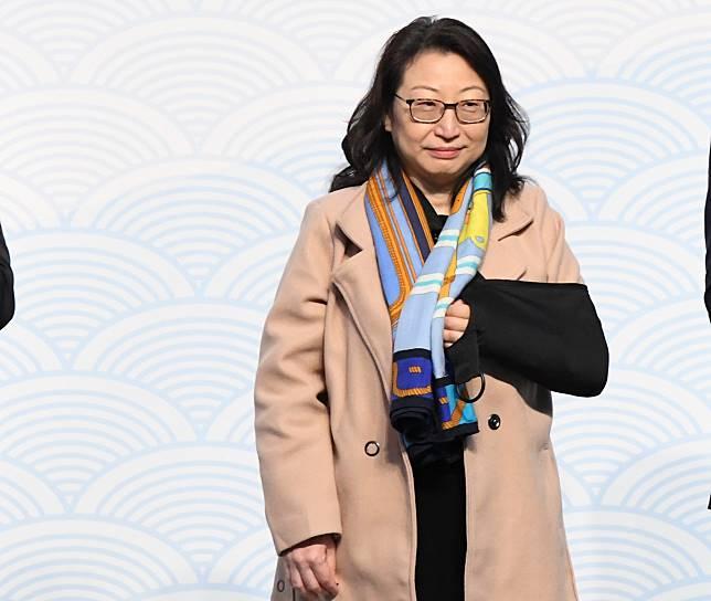 律政司司長鄭若驊。資料圖片