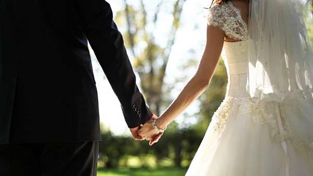 Ilustrasi pernikahan. (Shutterstock)