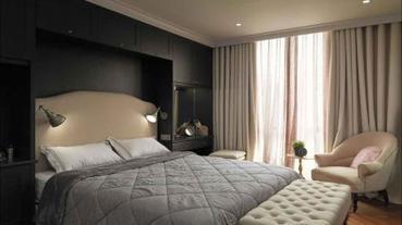 臥室最搶眼的地方 10 款床頭背牆的設計