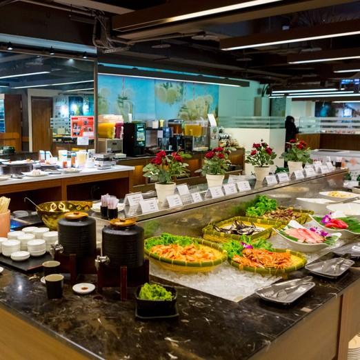 1.本券可2人於立德Café 83自助百匯餐廳享自助下午茶吃到飽。(價值$770,已含服務費) 2.本券平假日下午茶時段適用,如欲使用於平日(週一~週五)午餐或假日(週六~週日)晚餐需現場每人加價$1