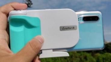 Adonit PhotoGrip Qi 藍芽無線充電拍照握把開箱分享
