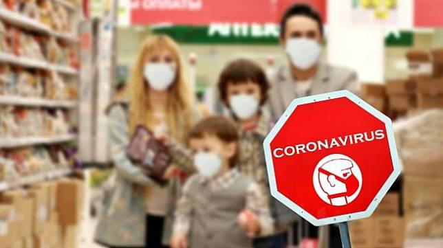 Ilustrasi virus corona. (Shutterstock)