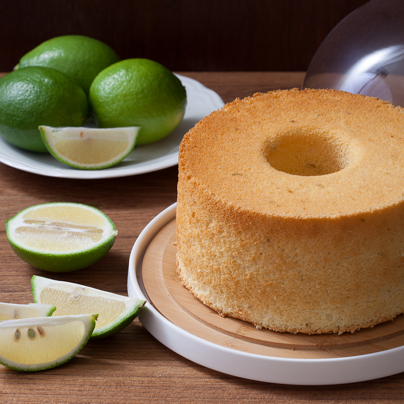 Soft Green 蜂蜜檸檬戚風 (七吋) 彌月蛋糕/週歲蛋糕/寶寶蛋糕 天然 手作 無添加