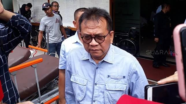 Ketua Sekretariat Nasional (Seknas) Prabowo - Sandiaga, Mohamad Taufik. (Suara.com/Tyo)