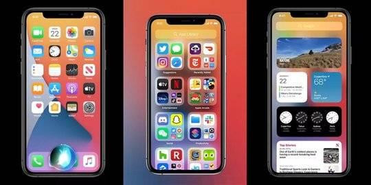 iOS 14. ©2020 Apple