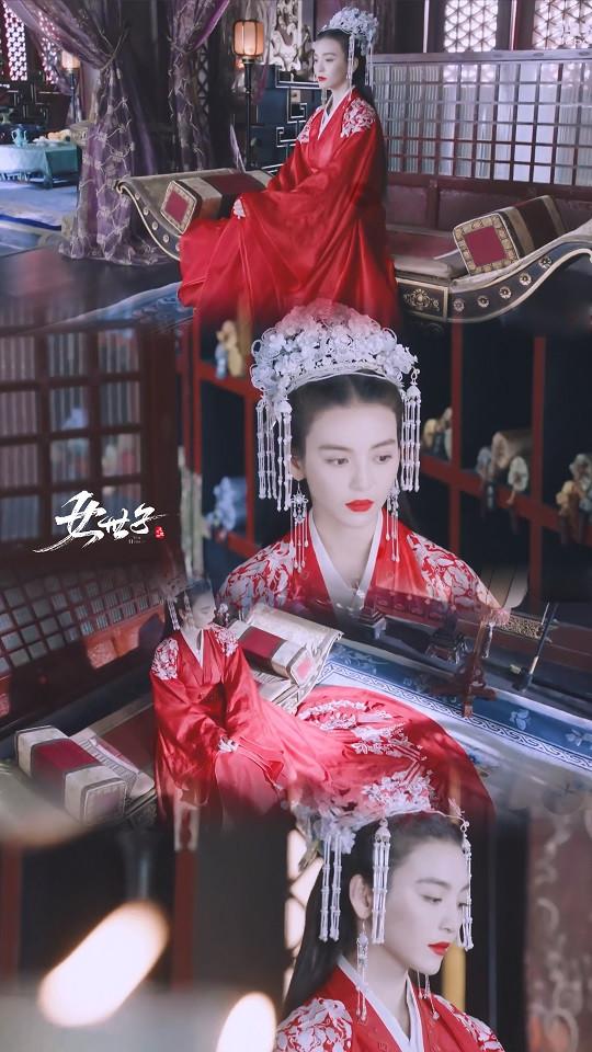 近期古裝劇「紅衣美人」9:尤靖茹 飾演《女世子》韓十一