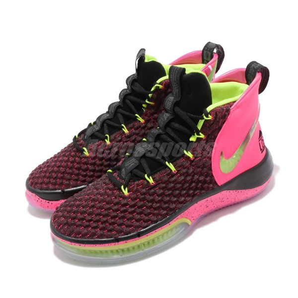 Nike 籃球鞋 Alphadunk EP 粉橘 黑 男鞋 運動鞋 Hoverboard 【PUMP306】 BQ5402-600